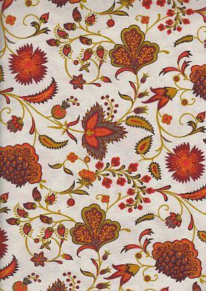 bonne provence tischdecken provencalische tischdecke ajanta rubis 160cm rund beschichtet. Black Bedroom Furniture Sets. Home Design Ideas