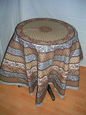 tischdecke rund provence
